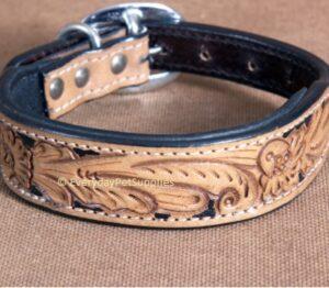 leather stud dog collar