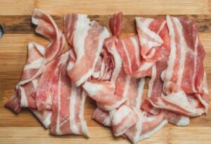 dog ate raw bacon